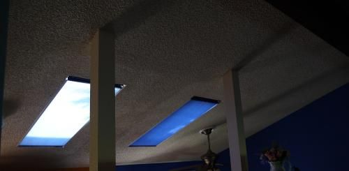 "Our customer said: ""These skylight blinds block the sun and heat very well. They do darken the room a bit when there's no sun/night but when it's sunny, the light shines through with no heat or glare. Of course, you always have the option to open them. The installation was very easy. Very pleased with product and delivery schedule."