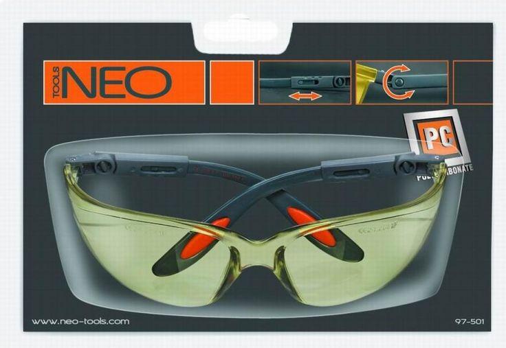 Ochelari de protecție profesionali, din policarbonat, disponibili pe suruburionline.ro