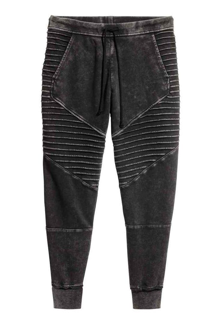 Pantaloni de jogging - Gri-închis - FEMEI   H&M RO