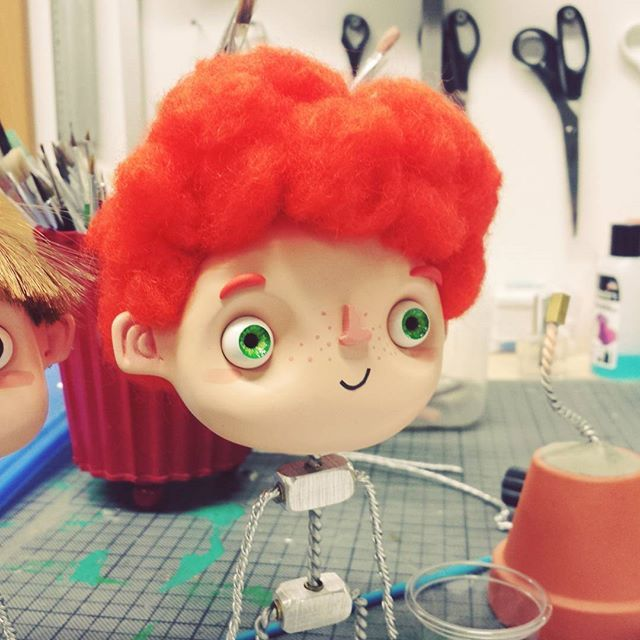 jonas #4 #stop #stopmotion #stopmotionanimation #robertscheffner #robertscheffner-illustrationandanimation #gingerhair #ginger #illustration # animation #puppet #puppen