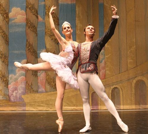 "Jill Marlow & Anthony Krutzkamp (wife and husband) as The Sugar Plum Fairy and her Cavalier in Dance Arts Academy's production of ""The Nutcracker"""