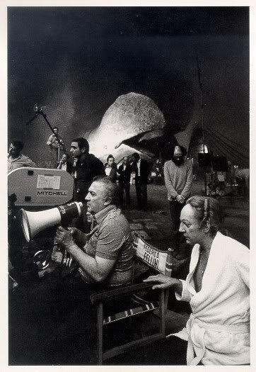 Fellini filming Casanova