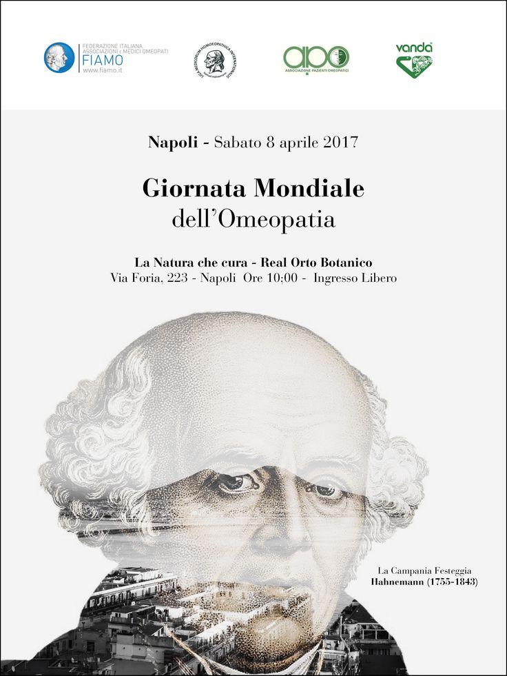 Napoli. Giornata Mondiale dell'omeopatia. #omeopatia