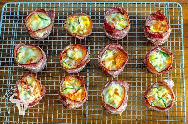 Eingewickelte Kartoffel-und-Ei-Frühstücks-Muffins | 19 leckere Mahlzeiten mit viel Protein, die Du super vorbereiten kannst