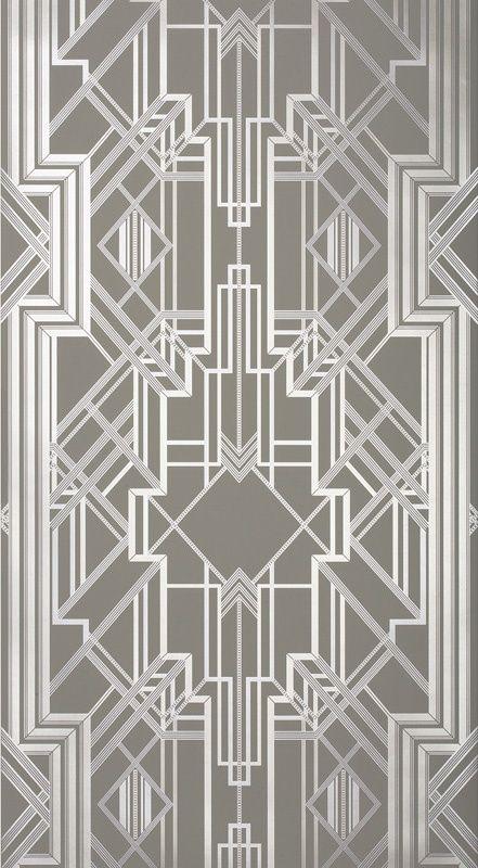 Metropolis Wallpaper Champagne 802 (10487-802) – James Dunlop Textiles   Upholstery, Drapery & Wallpaper fabrics