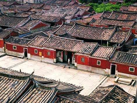 traditional chinese residential architecture | Quanzhou Residential Houses