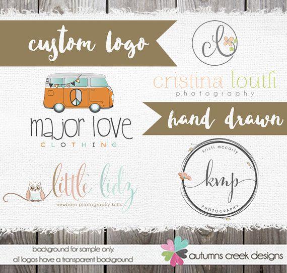 Custom Logo Design   Custom Logos   Hand drawn by autumnscreek