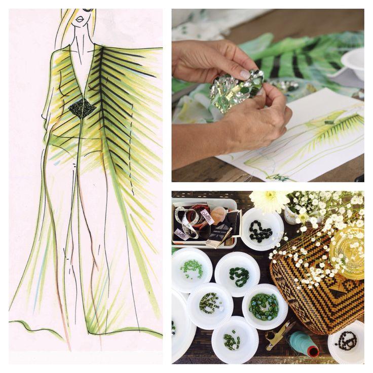 Palm Maxi Kaftan  Design Process #lottastensson #lottanyc #ebw #everythingbutwater #fashion #beachwear #resortwear #lottalove #boho #bohemian #resort #resortwear #stylist #fashionstylist #style #beach #beachwear #longdress #silk #silkdress #amazing #fashion #Summer15 #2015 #summer #spring #Spring2015 #print #unique #vacation #vacationwear #flowing #silhouette #ootd #outfitoftheday #beachoutfit #resortoutfit #floral #print #flowerprint #nautica #festival #cruise #palm #palmprint #bikini…