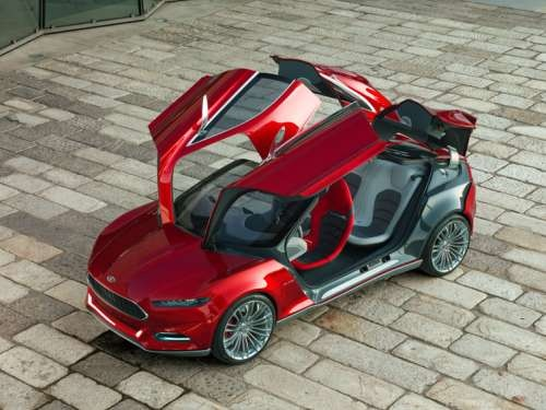 Look The Doors Open Weird On The Ford Mustang Evos  Photos