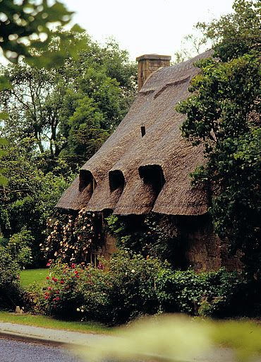 The old buildings of England...thatched cottages, tudor houses, castles, Georgian mansions.....the list goes on:)