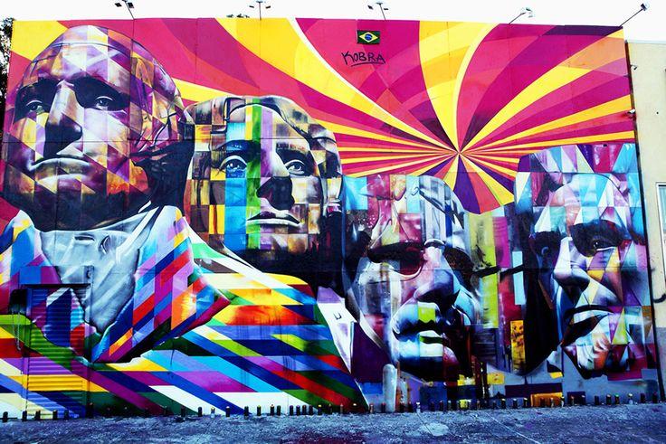 Murais | Eduardo Kobra