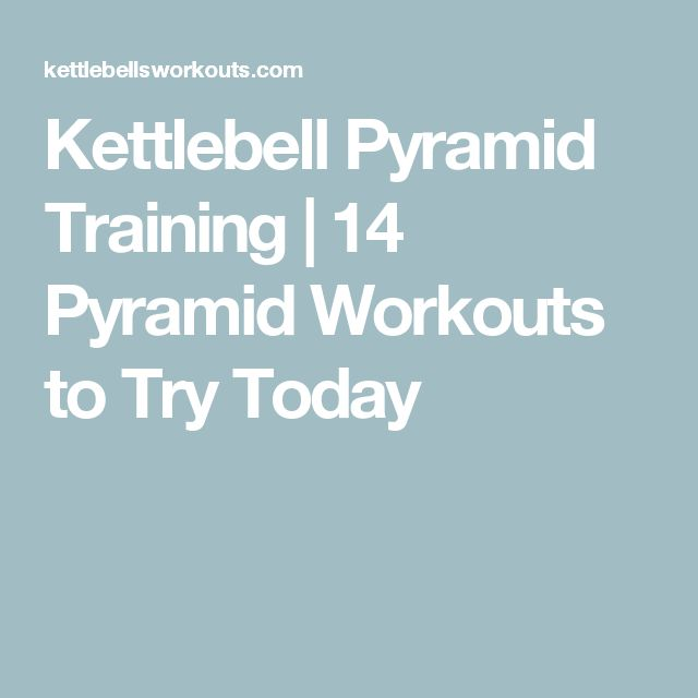 Kettlebell Pyramid Training | 14 Pyramid Workouts to Try Today