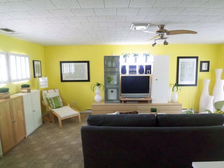 Die besten 25+ Gelbes Wohnzimmer Ideen auf Pinterest Warme - wohnzimmer braun beige grun