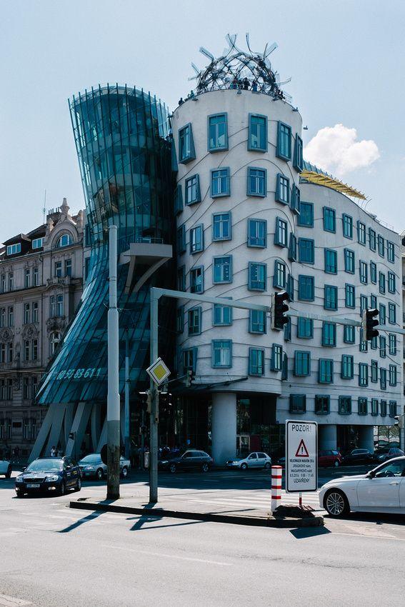 Dancing Houses, Prague