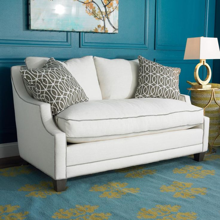 Whether You Are Downsizing Or Trying To Find A Sofa To Fit In A Tight Nook,  This Comfort Down Cushion And Ultra Soft Back Sofa Saves Space W.