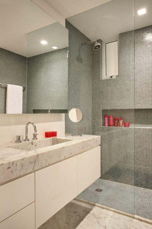 1000 id es sur le th me salle de bains en mosa que sur for Salle de bain 7 5 m2