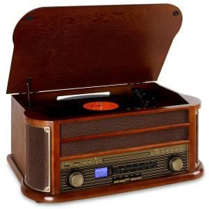 Auna RM1-Belle Epoque 1908 Retro Bluetooth CD MP3 - platine vinyle, prix pas cher - Cdiscount
