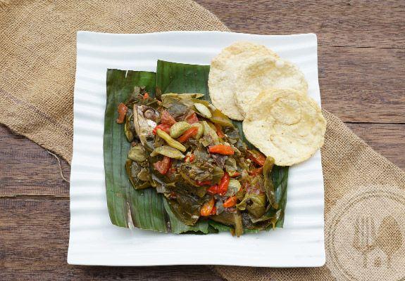 Pepes-peda-daun-tangkil