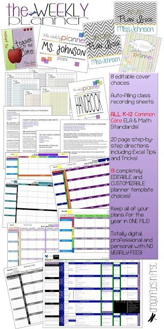 206 best Lesson Plan Templates/Teacher Binders images on ...