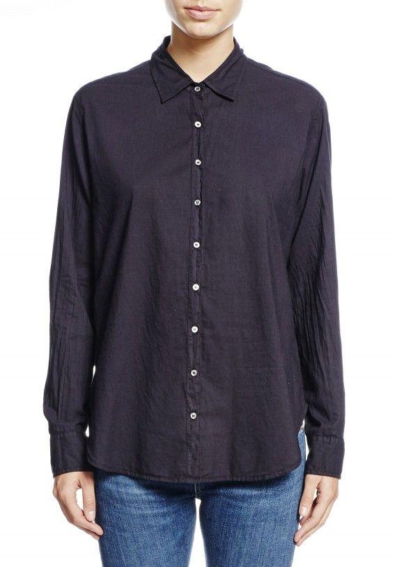 Xirena | Onyx Poplin Beau Shirt | WWW.TUCHUZY.COM