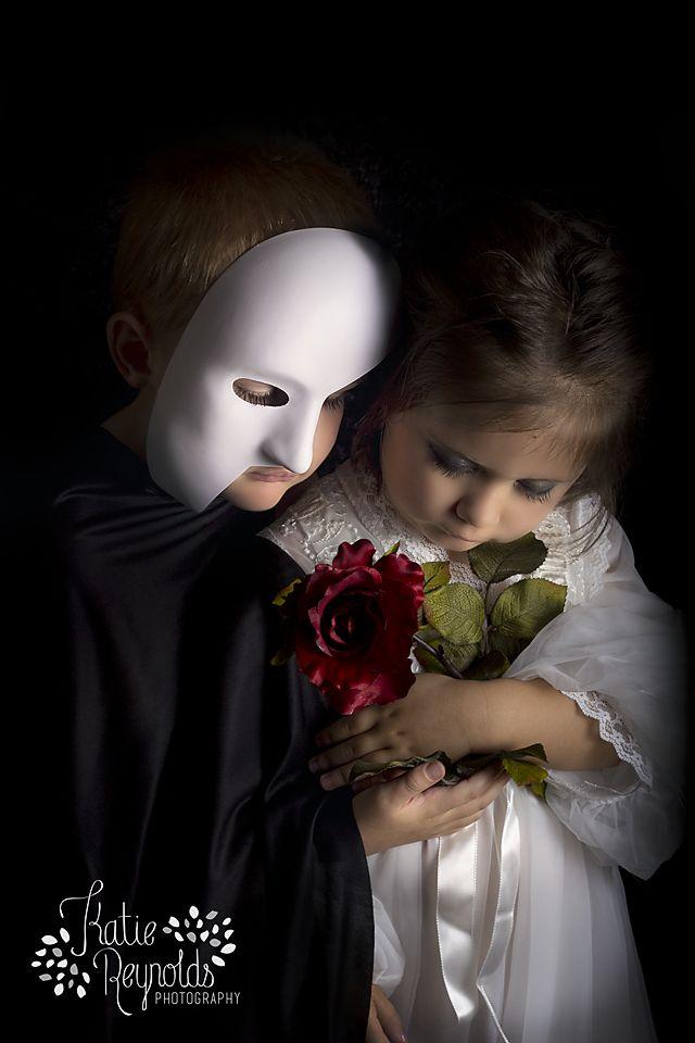 phantom of the opera childrens portrait fort worth photographer childrens photographer kids - Halloween In Fort Worth
