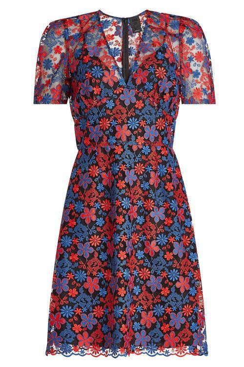 ANNA SUI Embroidered Dress. #annasui #cloth # – #A…