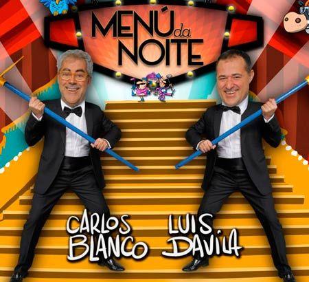 Menú da Noite, con Luis Davila y Carlos Blanco, en Lugo. Ocio en Galicia | Ocio en Lugo. Agenda actividades. Cine, conciertos, espectaculos