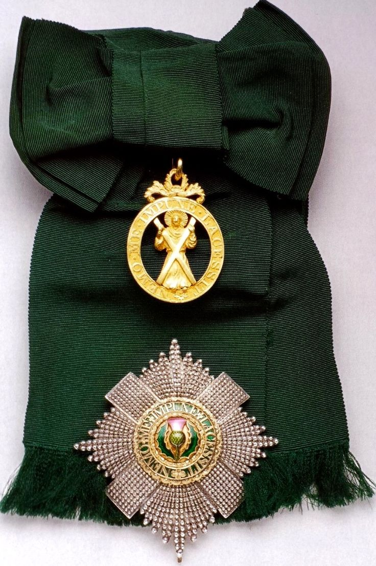 165 Best Images About Order Of The Thistle: British Orders