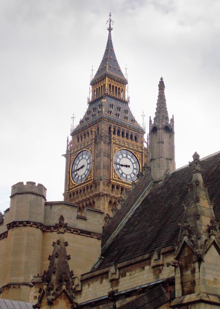geographilic: Westminsterský palác, Londýn, Anglie