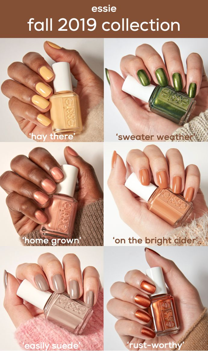 introducing the essie fall 2019 collection of six …