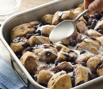 Blueberry Monkey Bread Bake