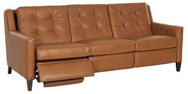 Lowry Mid Century Modern Power Wall Hugger Reclining Sofa Modern