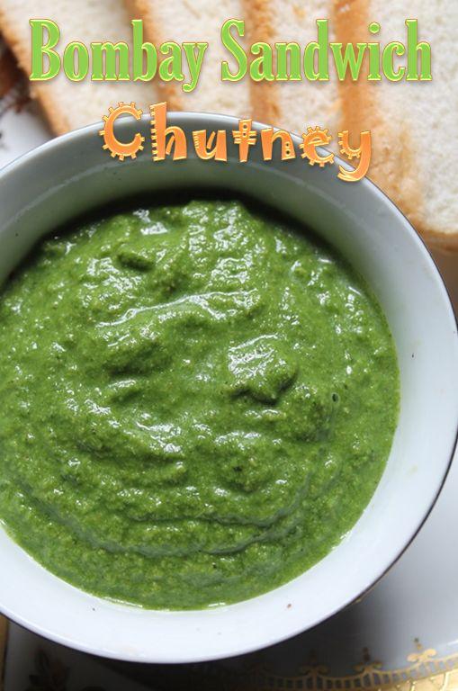 YUMMY TUMMY: Green Chutney for Sandwich / Bombay Sandwich Chutney Recipe