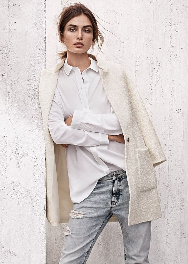 naturally+worn denim inspiration sunbleached fashion editorial home spring+2015 collection