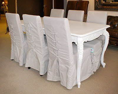 1000 images about dinning chair slipcovers on pinterest chair slipcovers custom slipcovers - Shabby chic dining room chair covers ...