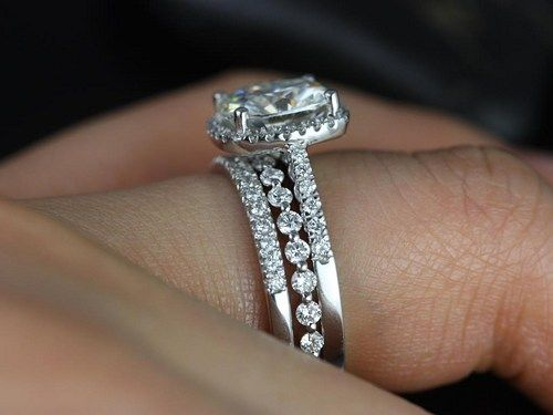 Halo With Multiple Wedding Bands Google Search Party Animal Diamond