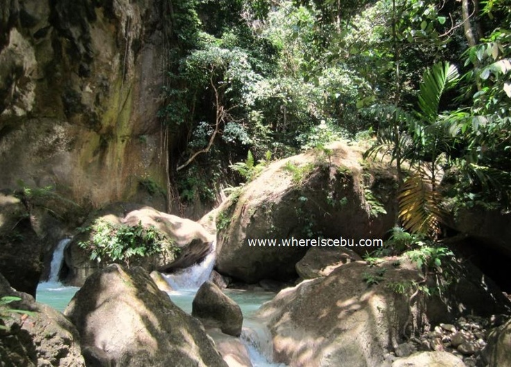 The Untold Adventures of Montaneza Falls: Malabuyoc, Cebu