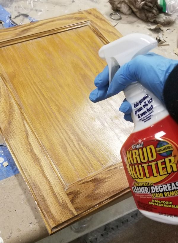 How to gel stain your cabinets with ease | Cabinet door ...