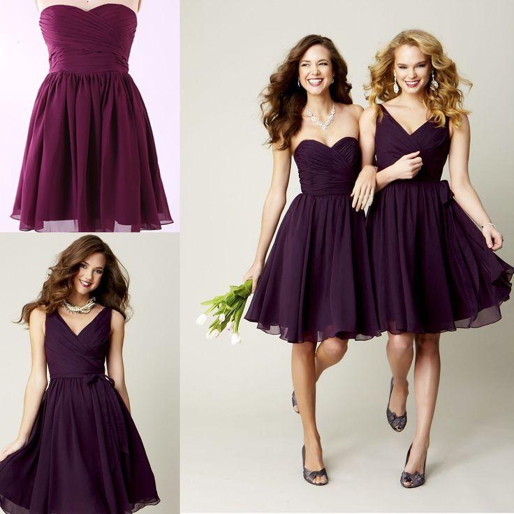 19 best Purple Bridesmaid Dresses images on Pinterest ...