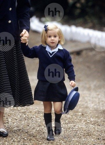 The King third Born child first cutie daughter Rebecca Samantha Harper Joyce of Germany attended christening of her baby sister Alyssa Paulina grace birth of Germany last child