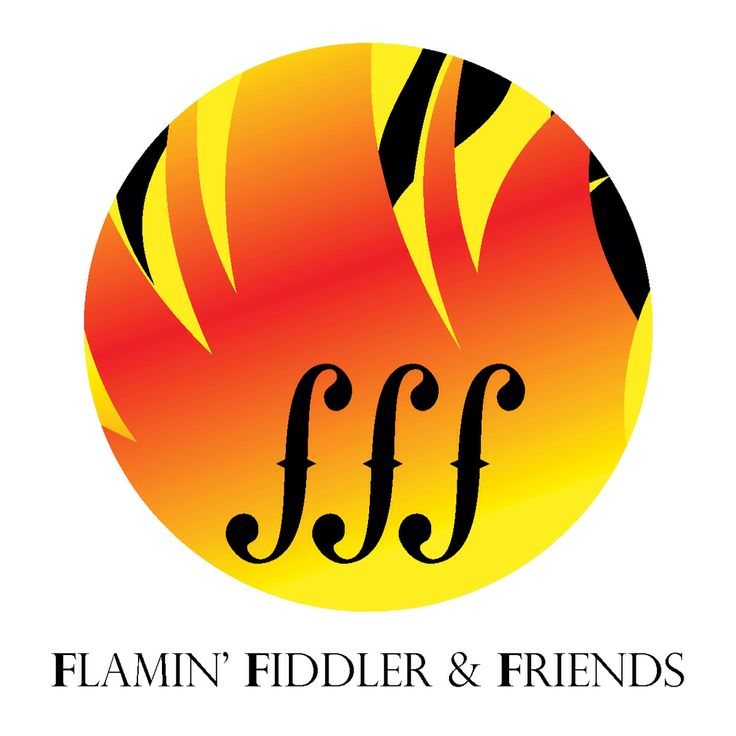 New logo for Flamin' Fiddler and Friends. http://flaminfiddler.com a responsive site but not that great on a mobile phone. Will have to build a premium mobile site from my mobile CMS Platform http://localmobileze.com