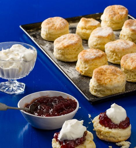how to make plain scones with buttermilk