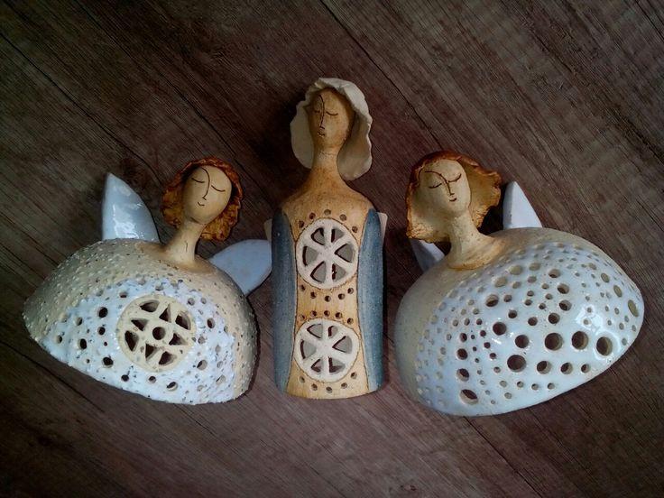 andělky svícínky