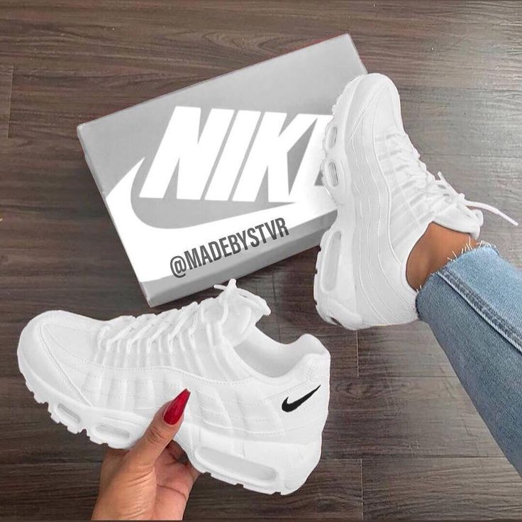 Nike Shoe… That fits the leg to the fullest. Hea…