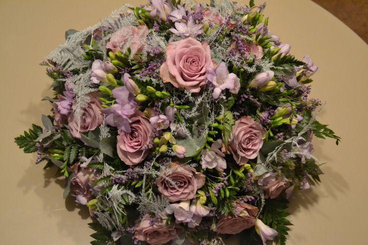 grafstuk biedermaaier paars