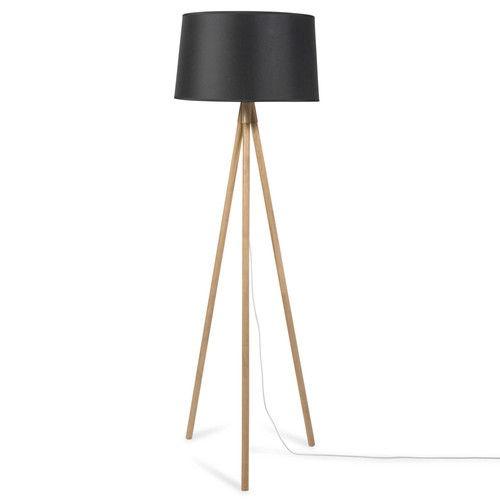 1000 id es propos de lampadaire trepied bois sur. Black Bedroom Furniture Sets. Home Design Ideas