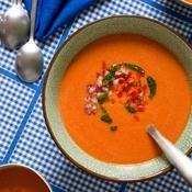 Gaspacho de pastèque - une recette Soupes d'été - Cuisine