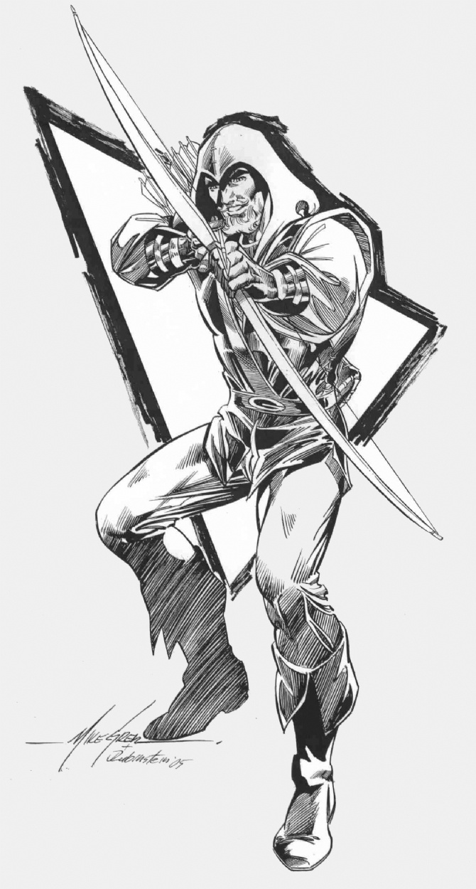 77 best mike grell images on pinterest | comic art, mike d'antoni ... - Green Arrow Coloring Pages
