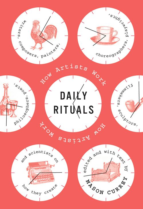Daily Rituals: A Guided Tour of Writers and Artists Creative Habits | Brain Pickings