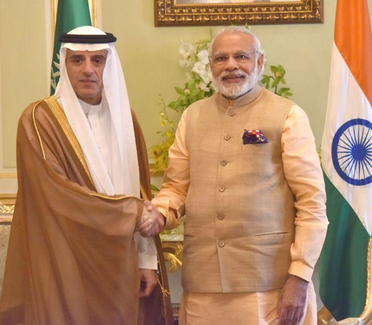 The First Mail   PM Modi Meets Adel Al Jubeir
